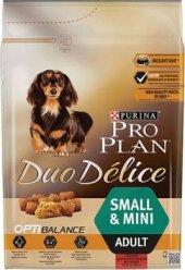 Pro Plan Duo Delice Küçük Irk Taze Parça Sığır Etli Yetişkin Köpek Maması 2,5 Kg (Adult Small Breed
