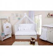 Maya Baby Collection Ebruli Uyku Seti 60x120 Beyaz