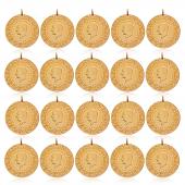 Tam Altın Darphane 20 Adet Paket Eski Tarihli