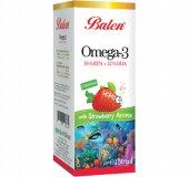 Balen Omega 3 Çilek Aromalı Balık Yağı 150 Ml