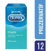 Durex Klasik Prezervatif 12li Temel Güven Duygusu