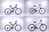 Falcon Camino Dv 24 Jant 21 Vites Çift Amortisörlü Dağ Bisikleti