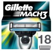Gillette Mach3 Yedek Tıraş Bıçağı 18li Karton Paket
