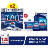 Finish Quantum 60 X 2 + Finish Temizlik Ve Bakım S...