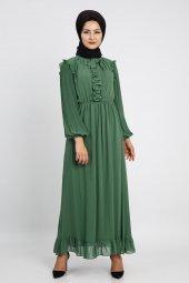 Loreen Kadın Yeşil Elbise 22120