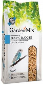 Garden Mix Platin Yavru Muhabbet Kuş Yemi 500 Gr (10 Adet)