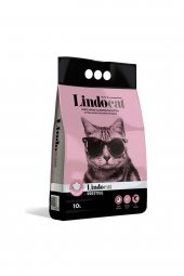 Lindo Cat Topaklaşan Baby Powder Kalın Taneli Kedi Kumu 10 Lt