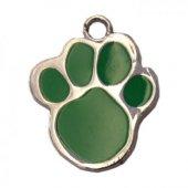 Patili Kedi Köpek İsimlik Aksesuar 2 Cm Yeşil