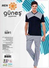 Güneş 5091 Kısa Kol Erkek Pijama Takımı