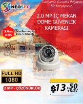 2.0 Mp (İç Mekan) Dome Güvenlik Kamerası (Hd 1080p)