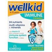 Vitabiotics Wellkid Immune Chewable 30 Tablet