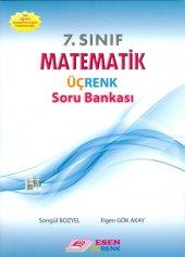 7.sınıf Matematik Üçrenk Soru Bankası Esen Üçrenk Yayınları