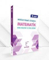 5. Sınıf Modüler Piramit Sistemiyle Matematik Konu Anlatımı Ve Soru Çözümü Karekök Yayınları