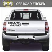 Hilux 4x4 Off Road Sticker