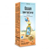 Orzax Ocean Balık Yağı Şurup Portakal