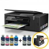 Epson L3050 Orjinal Tanklı 4 Renk Yazıcı Inktec Mürekkepli