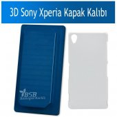 3d Sony Xperia Kapak Baskı Kalıbı