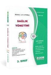 Aöf Sağlık Yönetimi 3. Sınıf 5. Yarıyıl Güz Dönemi Egem Yayınları