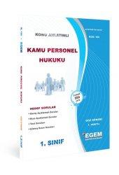 Aöf Kamu Personel Hukuku 1. Sınıf Güz Dönemi Konu Anlatımlı Soru Kitabı Tek Egem Yayınları