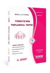 Aöf Türkiye&#039 Nin Toplumsal Yapısı 4. Sınıf Güz Dönemi Konu Anlatımlı Soru Kitabı Tek Egem Yayınları