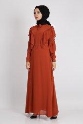 Loreen Kadın Kiremit Elbise 22117