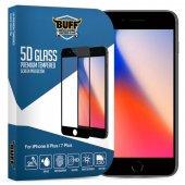 Buff İphone 8 Plus 7 Plus 5d Glass Ekran Koruyucu