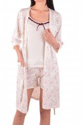 Kadın Şortlu Pijama Takım Sabahlık