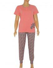 Kadın Pijama Takımı Kısa Kollu