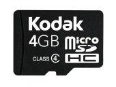 Kodak Extra 4gb Micro Sd Hafıza Kartı Ve Adaptör S...