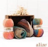 Alize Angora Gold Batik El Örgü İpi El İşi İpliği