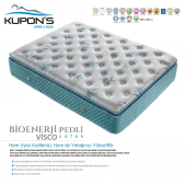 Kupons Bioenerji Pedli Yaylı Visco Yatak 80x180 Cm