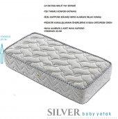 Kupons Ortopedik Silver Bebek Yatağı 65x95 Cm 20 Cm Yükseklik
