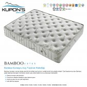 Kupons Bamboo Ortopedik Yaylı Yatak 80x180 Cm