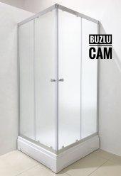 Durul Duşakabin Kare Ve Dikdörtgen Buzlu Cam Çeşit...