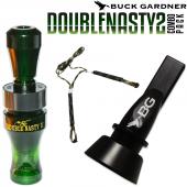 Buck Gardner Double Nasty 2 Ördek Düdüğü Seti Camogreen