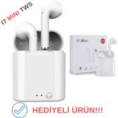 I7 Tws Mini Bluetooth 5.0 Kablosuz Kulaklık Apple İphone Samsung İos Android Uyumlu