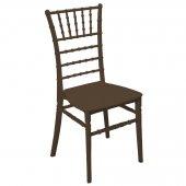 Mandella Silver Sandalye Tifany (6 Adet) Kahverengi