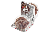 Puf Kakao Granül Kaplamalı Marshmallow Bisküvi 16 Gram 48 Adet