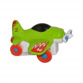 Canem 0783 64 12li Sürtmeli Metal Yeşil Uçak