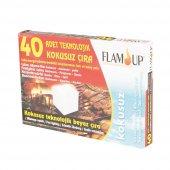 Flam Up Teknolojik Beyaz Çıra 40lı