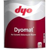 Dyomat Mat Sentetik Dekorasyon Boyası 2,5 L