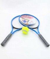 2 Raketli 1 Toplu Tenis Seti Roller Master