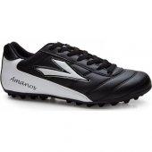 Lig Amanos Halı Saha Ayakkabısı Siyah Beyaz