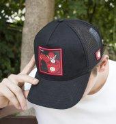 Deepsea Siyah Çerçeveli Flash Desen Ayarlanabilir Boyut Fileli Şapka 1908800