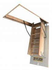 60x120 Optistep Ahşap Çatı Merdiveni