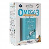 Zade Vital Premium Omega 3 Portakal Aromalı Balık Yağı Şurubu 200 Ml