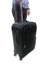 Moda Lüx 4 Teker Kumaş Kabin Boy Valiz I Md61
