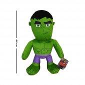Hediyeli Lisanslı, Disney Marvel Avangers Peluş Hulk (Yeşil Sinirli Dev) Peluş Oyuncak 46 Cm
