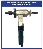Tag Prep4 Taşınabilir Elektrikli Boru Kaynak Ağzı Açma Makinesi