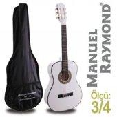 Klasik Gitar Junior Raymond Mrc87wh (Kılıf Hediye)...